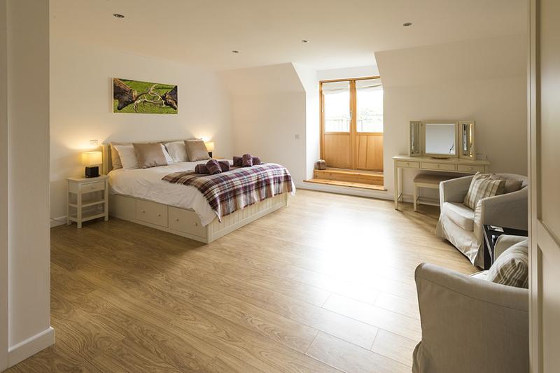 The Mill master bedroom