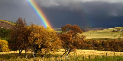 Autumn rainbow 2 Oct 2015