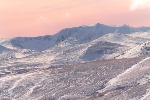 Mountain sunset Mar 2016